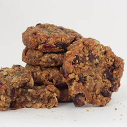 Stack of Harvest Granola Cookies