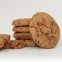 Stack of Heath Bar Cookies