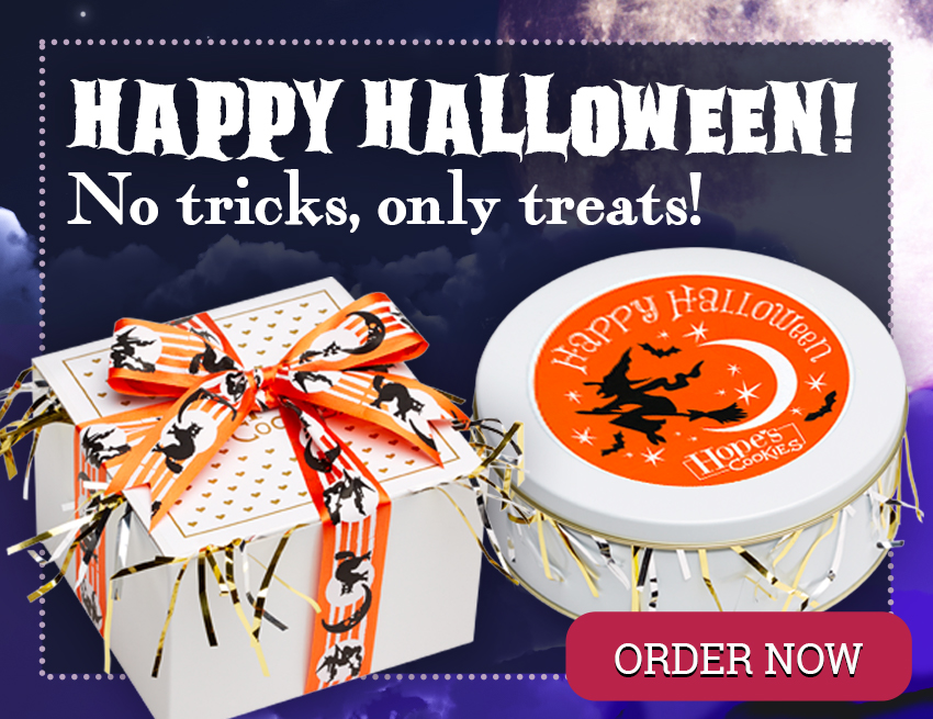 Halloween - No tricks, only treats!