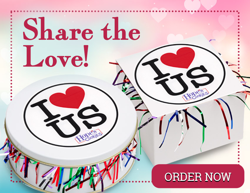 Share the Love with Cookies from Hope's Cookies!