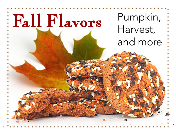 Fall Flavors for a limited time