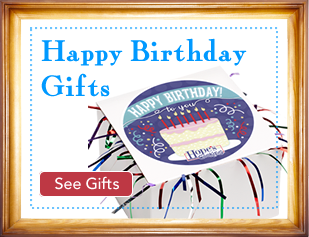 Birthday Cake Tinsel Box