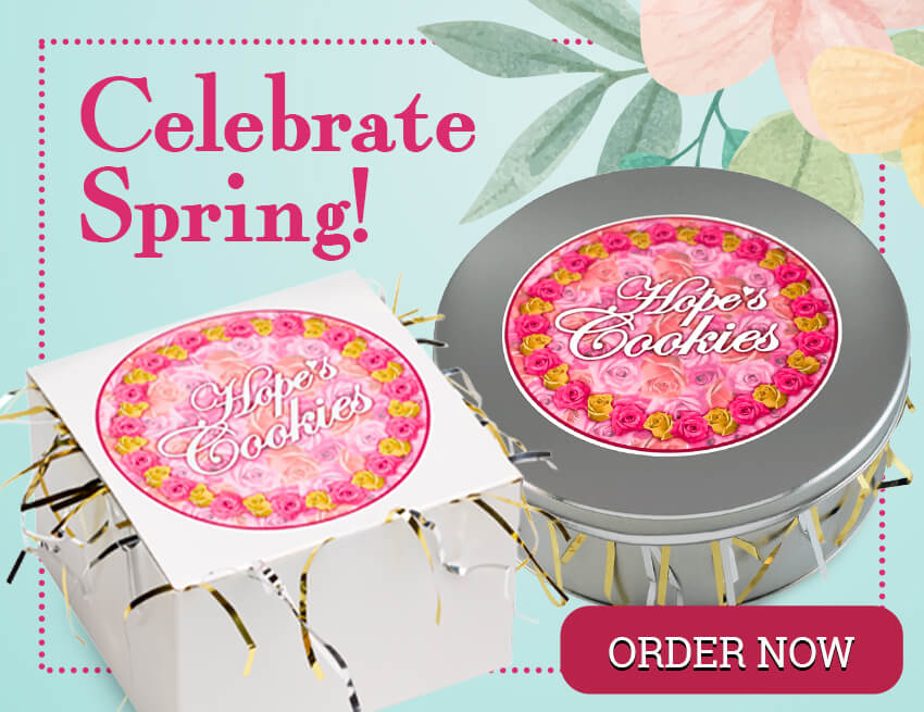 Celebrate Spring with Freshly Baked Cookies from Hope's Cookies!