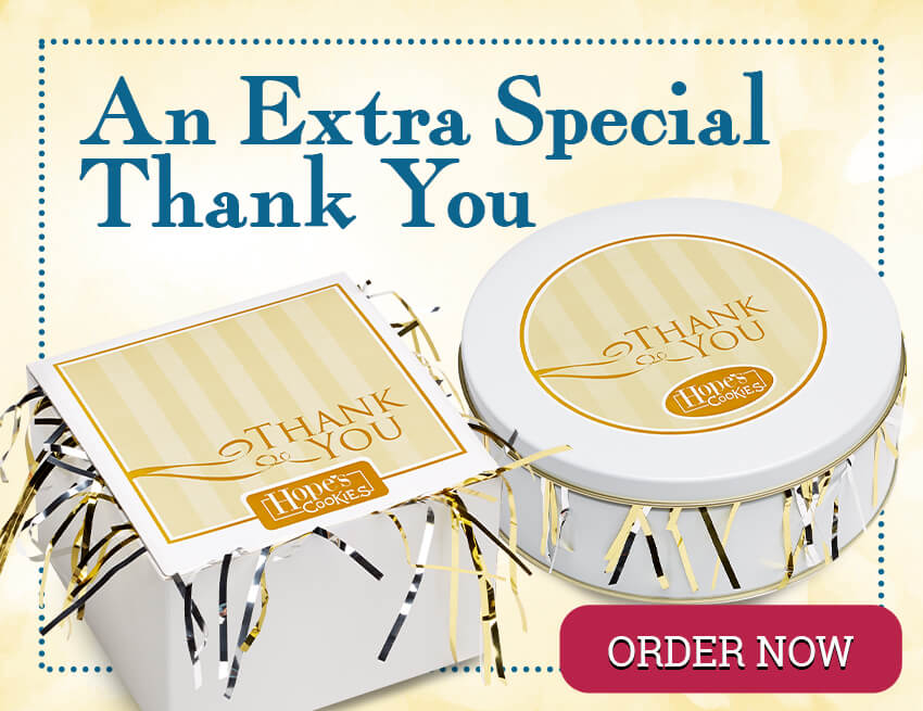 Send an Extra Special Thank You with sweet treats from Hope's!