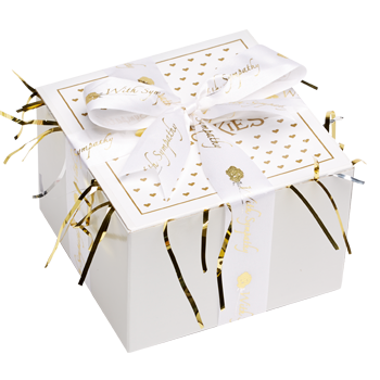 Sympathy Cookie Gift Box with Ribbon