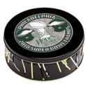 Philadelphia Eagles Super Bowl Cookie Gift Tin in Black
