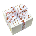 Gingerbread Man Ribbon Cookie Gift Box