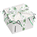 St. Patrick's Day Hat Ribbon Cookie Gift Box