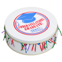 Congratulations Cookie Gift Tin in White