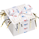 Father's Day Cookie Ribbon Gift Box