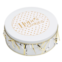 Gold Foil Cookie Gift Tin