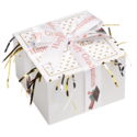 Graduation Cookie Gift Box with Ribbon