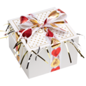 Hearts Ribbon Cookie Gift Box