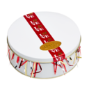 Love Ribbon Cookie Gift Tin