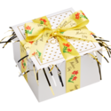 Mother's Day Yellow Ribbon Cookie Gift Box