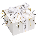 Thank You Cookie Gift Box with Ribbon
