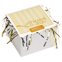 Thank you Cookie Gift Box with Tinsel