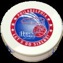Philadelphia Sixers Cookie Gift Tin in White