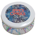 Snowflake Cookie Gift Tin