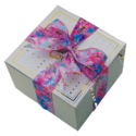 Flower Ribbon Cookie Gift Box