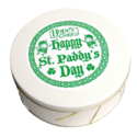 St Patrick's Day Cookie Gift Tin in White