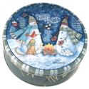 Warm Wishes Cookie Gift Tin