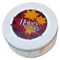 Fall Leaves Cookie Gift Tin
