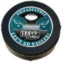 Philadelphia Eagles Cookie Gift Tin in Black