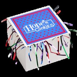 Gluten Free Purple Tinsel Box