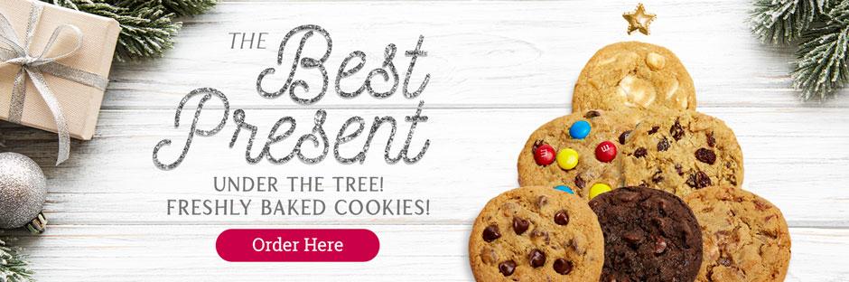 The Best Present Under the Tree - Freshly Baked Cookies - Order Here!