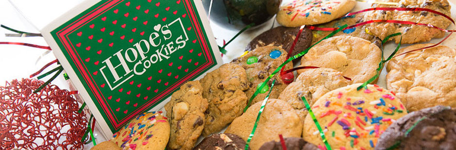 Assorted Hope's Cookies with Christmas Gift Box