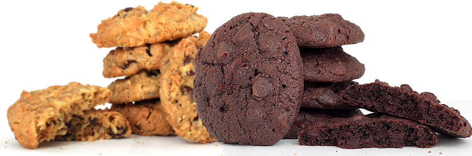 A Hope's Royal® Cookie and A Double Fudge Cookie