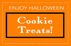 Enjoy Halloween Cookie Treats